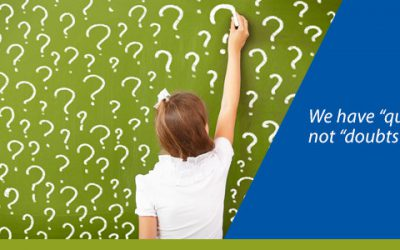 """Writing for Business – We have """"questions"""", not """"doubts"""""""